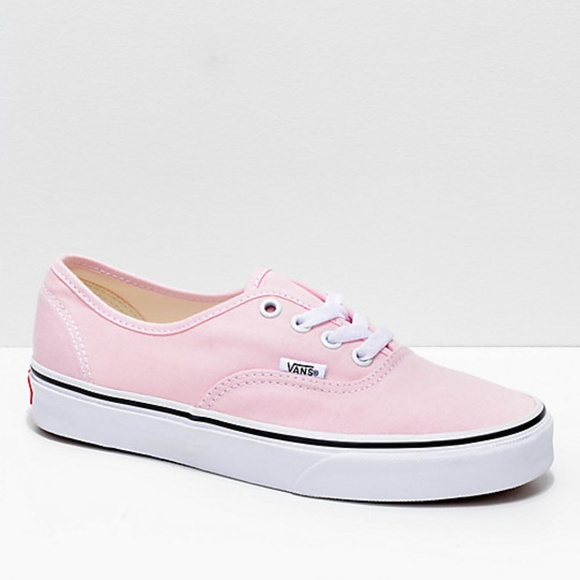 aef7ee292d7c Vans Authentic Chalk Pink   True White Shoes. M 5bef26a2c61777b77a0bbbc3